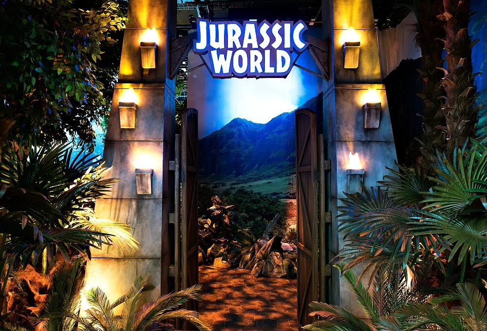 Jurassic World Gates