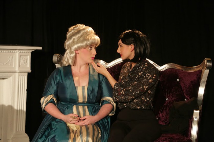 Courtney Powell and Darcie Irwin-Simpson as Estelle and Ines