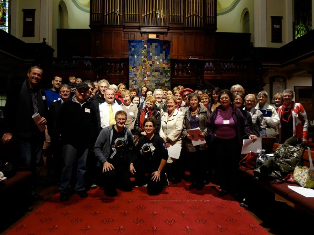 With One Voice Sydney Sings choir
