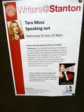 Tara Moss @ Stanton Library - 22.6.2016 (3)