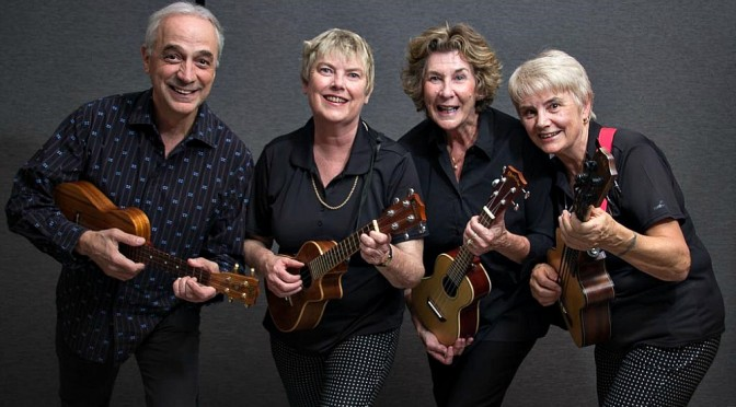 THE SILVERBEAT UKULELE GROUP TO PERFORM AT WORLD BUSKER DAY CONCERT