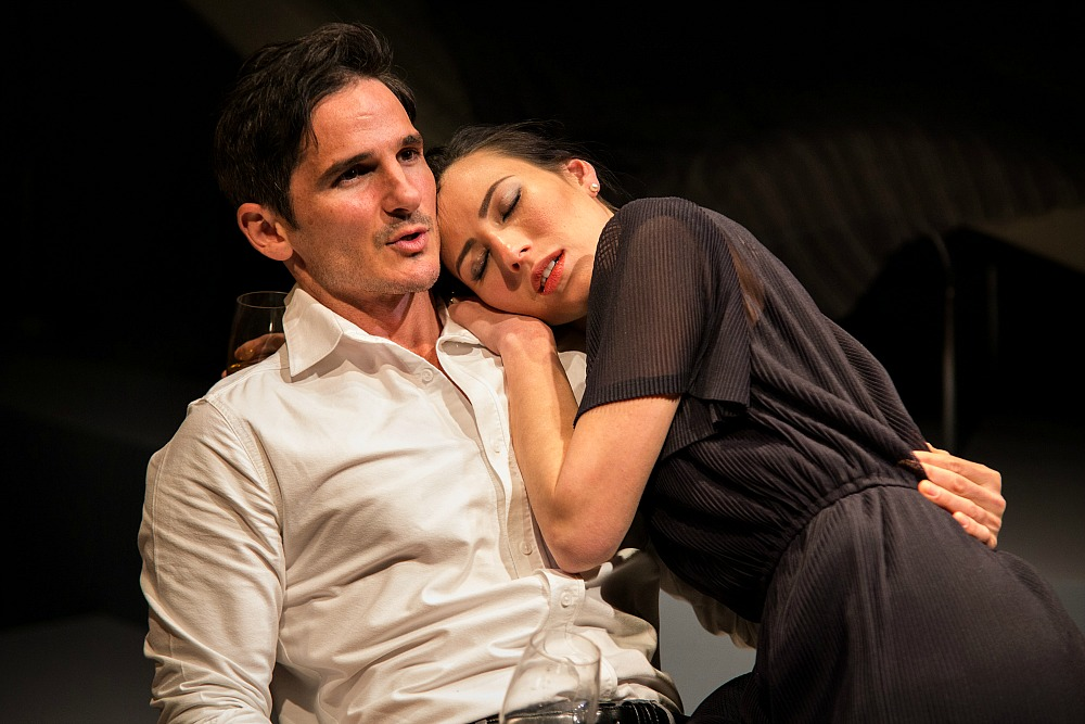 Matt Zeremes and Ursula Mills in Betrayal, photo by Clare Hawley-62