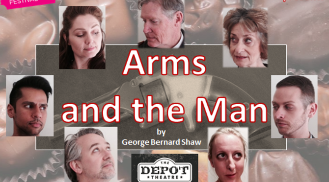 GEORGE BERNARD SHAW'S 'ARMS AND THE MAN' @ DEPOT THEATRE MARRICKVILLE