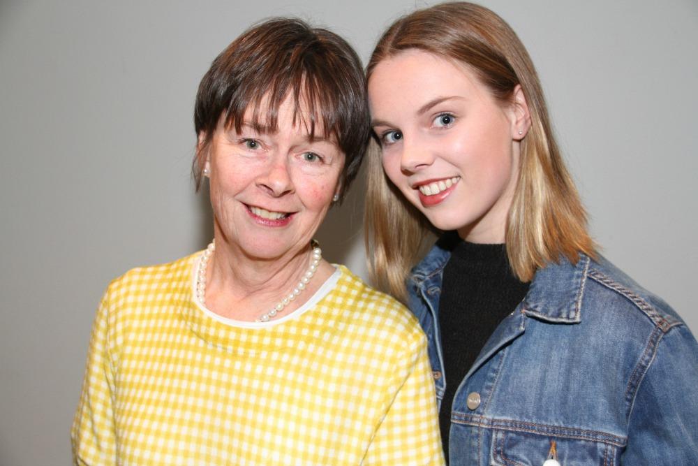 Penny Cook & daughter Poppy Lynch.