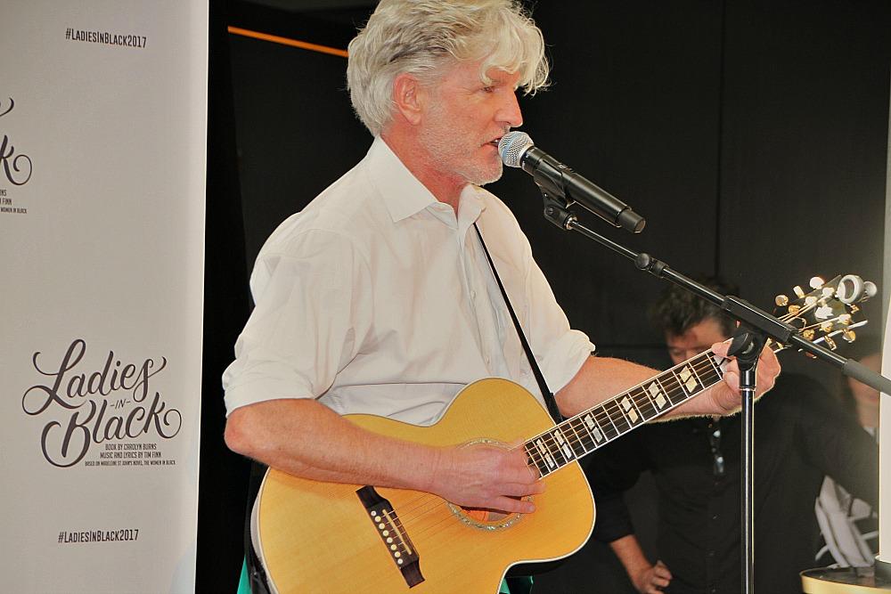 Helpmann Award winning composer Tim Finn.
