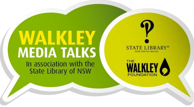 WALKLEY MEDIA TALK : SHOTS FROM THE FRONT @ STATE LIBRARY