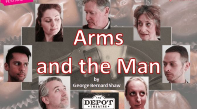 ARMS AND THE MAN @ DEPOT THEATRE MARRICKVILLE