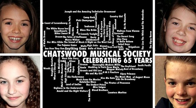 Chatswood Musical Society 65th Anniversary Concert @ The Zenith Theatre Chatswood