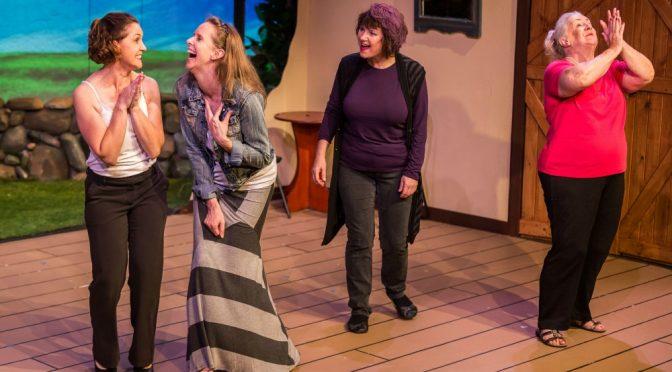CASTLE HILL PLAYERS PRESENT 'CALENDAR GIRLS' @ THE PAVILION THEATRE