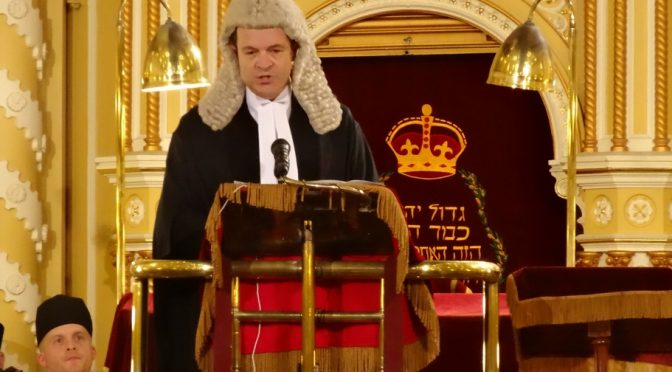THE GREAT SYNAGOGUE SERVICE FOR THE OPENING OF THE LAW TERM