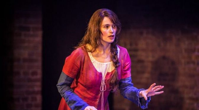 NT LIVE'S OVERLY AMBITIOUS ST JOAN @ THE DONMAR