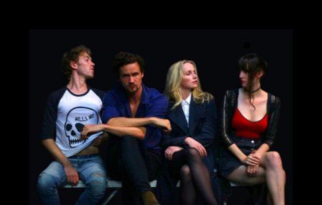 SEX OBJECT, Charlie Falkner (Ben), Andrew Hearle (Gustav), Grace Victoria (Kate), Charlotte Devenport (Ron).