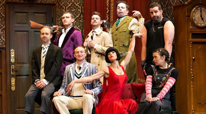 THE PLAY THAT GOES WRONG : A HOOT FROM BEGINNING TO END