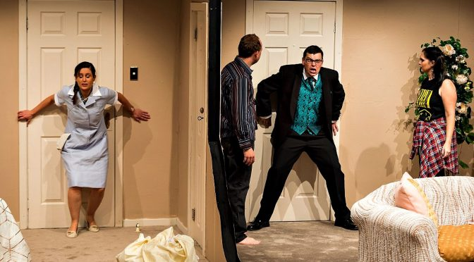 PERFECT WEDDING : FAST PACED BEDROOM FARCE COMES TO CASTLE HILL