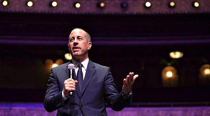 JERRY SEINFELD WOWS AUDIENCES DURING HIS LIGHTNING AUSTRALIAN VISIT