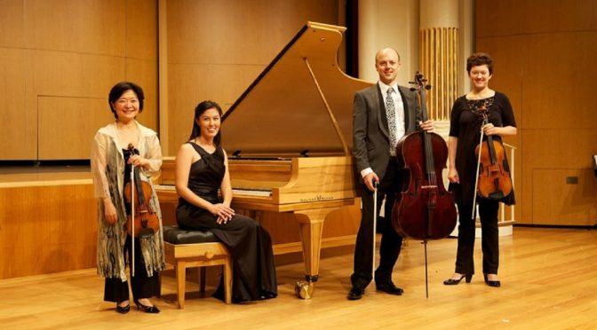 PRELUDE IN TEA : SONUS PIANO QUARTET @ THE INDEPENDENT THEATRE