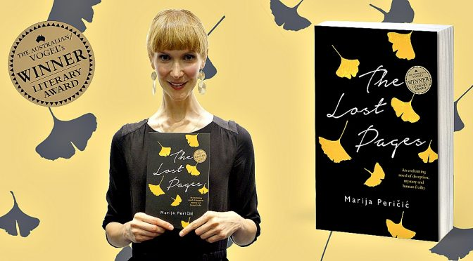 The Lost Pages – The Debut Novel by Melbourne writer Marija Peričić