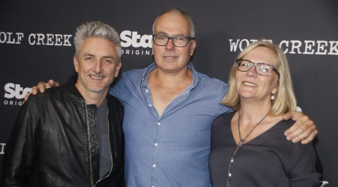 RED CARPET : WORLD PREMIERE OF STAN ORIGINAL SERIES OF WOLF CREEK