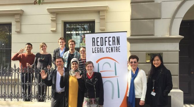 REDFERN LEGAL CENTRE TURNS 40: COMEDY FUNDRAISER
