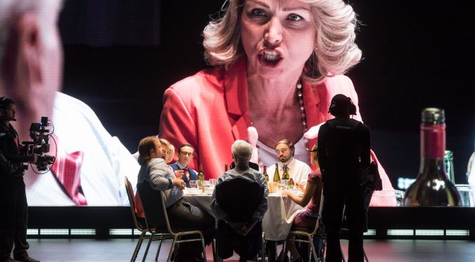 THE RESISTIBLE RISE OF ARTURO UI @ ROSLYN PACKER THEATRE