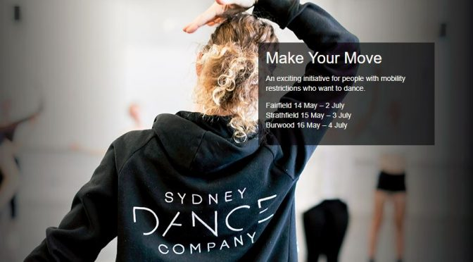 FREE DANCE CLASS FOR PEOPLE WITH MOBILITY RESTRICTIONS