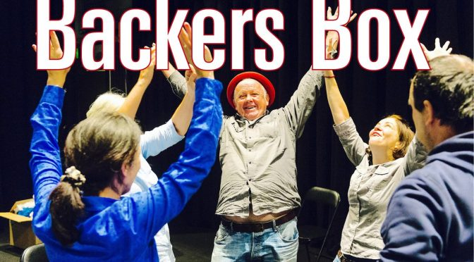 BACKERS BOX – HELP SUPPORT MILK CRATE THEATRE