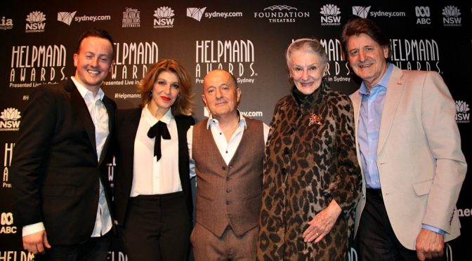 HELPMANN AWARDS NOMINATIONS FOR 2018 ANNOUNCED