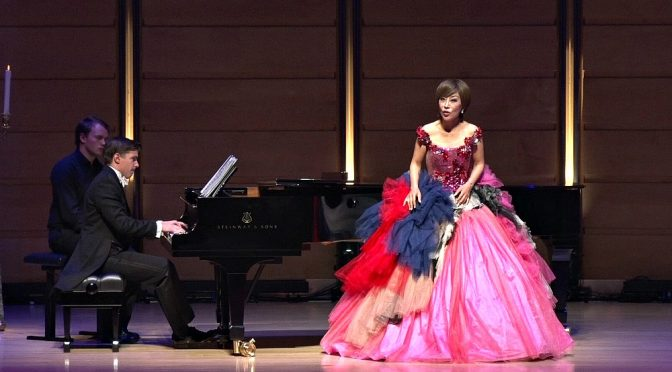 'A VOICE FROM ABOVE' : SUMI JO TO PERFORM AT CITY RECITAL HALL