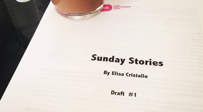 ELISA CRISTALLO DIVES INTO THE FRINGE AND WE HAVE A GIVEAWAY
