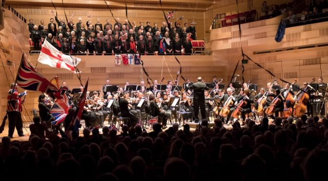 LAST NIGHT OF THE PROMS 2018: WILLOUGHBY SYMPHONY AND CHOIR