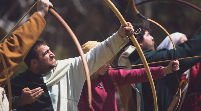 ST IVES MEDIEVAL FAIRE: WE HAVE GIVE-AWAYS TO THIS INTERACTIVE LIVING HISTORY