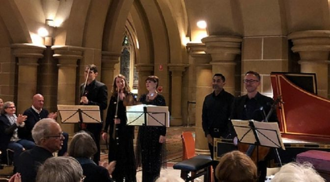 MUSICAL OFFERING : BACH AKADEMIE AUSTRALIA @ ST. MARY'S CATHEDRAL CRYPT