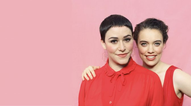 TWO GIRLS ONE SHOW: FRINGING AT THE NEWSAGENCY