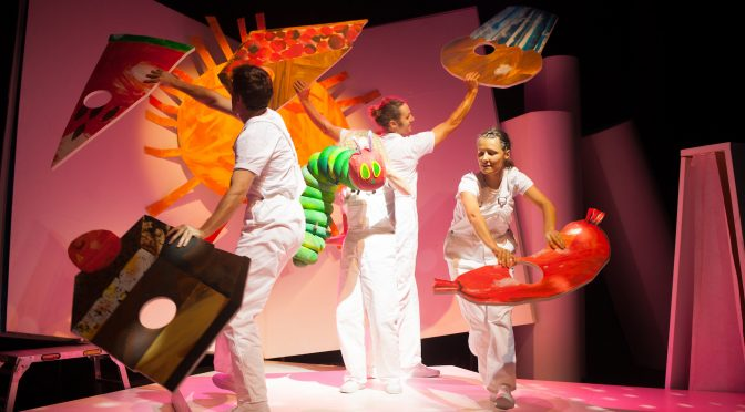 'THE VERY HUNGRY CATERPILLAR' IS CHOMPING ITS WAY TO THE SEYMOUR CENTRE