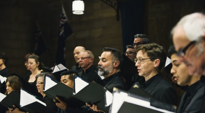 BEHOLD – THE SEA! FROM SYDNEY CHAMBER CHOIR. GIVEAWAYS
