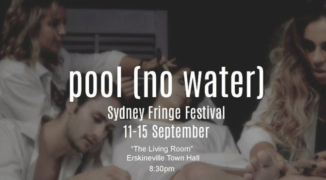 pool (no water) GIVEAWAY TO THIS FRINGILY PROVOCATIVE SHOW
