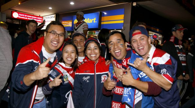 BONDI JUNCTION CROWS AT ROOSTERS VICTORY