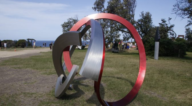 SCULPTURE BY THE SEA : A YEAR OF FIRSTS