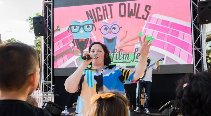 NIGHT OWLS KIDS' FILM FESTIVAL. FREE MOVIES IN DARLING QUARTER