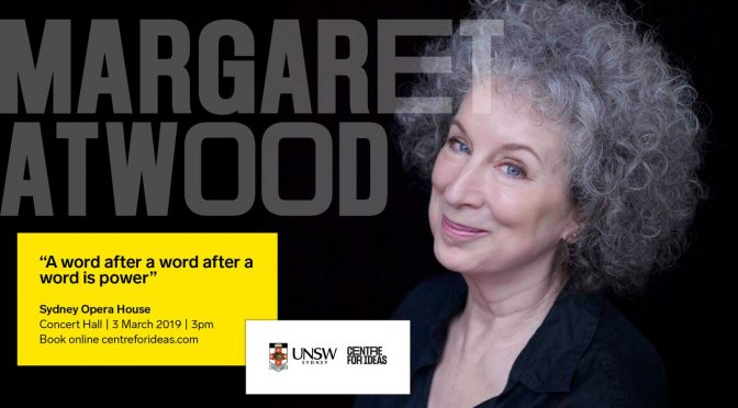MARGARET ATWOOD: THE LITERARY THINKER ON HUMANITY AND THE FUTURE CREATION. LIVE.