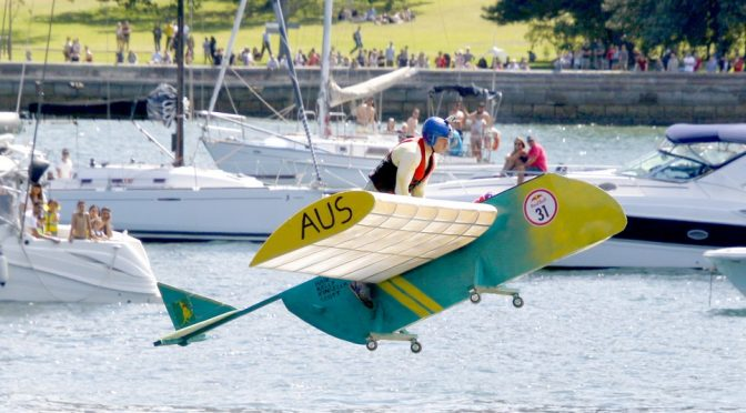 FLUGTAG MAKES A SPLASH IN SYDNEY