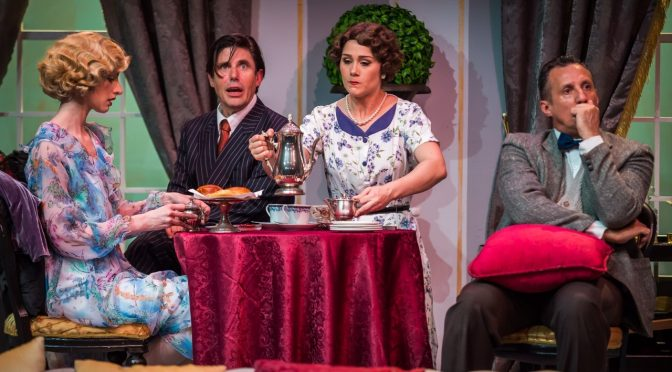 PRIVATE LIVES: A GORGEOUS PRODUCTION FROM CASTLE HILL PLAYERS