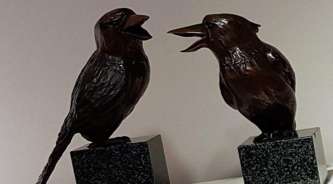 BIRDS AND ANIMALS IN BRONZE : A NEW EXHIBITION BY JANE DAWSON