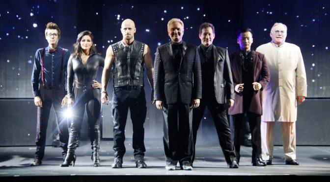 THE ILLUSIONISTS : DIRECT FROM BROADWAY : MEDIA CALL