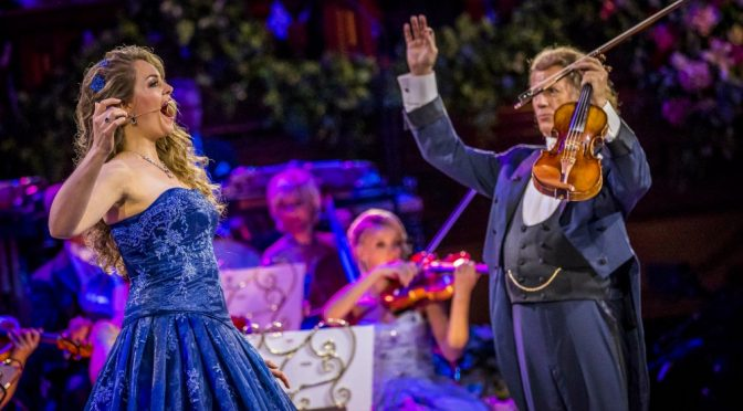 ANDRE RIEU'S SYDNEY TOWN HALL CONCERT  ON THE BIG SCREEN