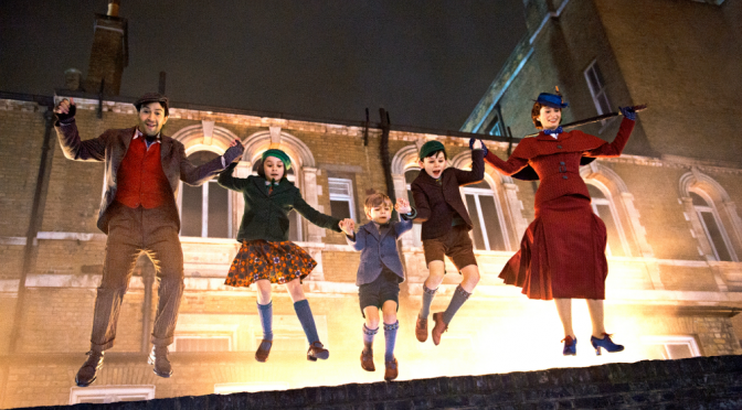 MARY POPPINS RETURNS: WELCOME BACK