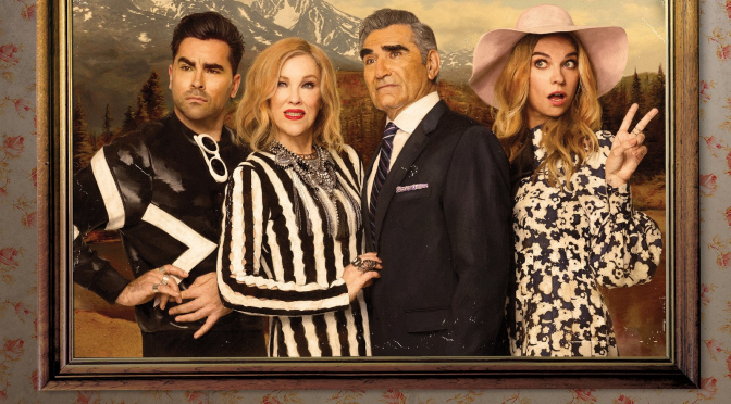 SCHITT'S CREEK SEASON 4 AVAILABLE SOON ON DVD. GIVEAWAY COMPETITION