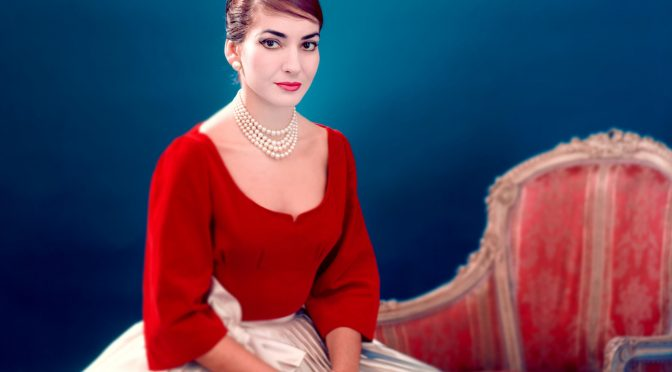 MARIA BY CALLAS : DESTINED TO BE A DIVA