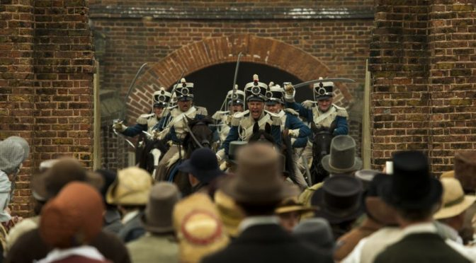 5 DOUBLE PASSES TO MIKE LEIGH'S NEW FILM 'PETERLOO'