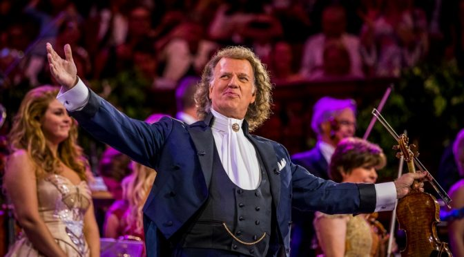 TEN DOUBLE PASSES : ANDRE RIEU'S 2019 MAASTRICHT CONCERT : SHALL WE DANCE?